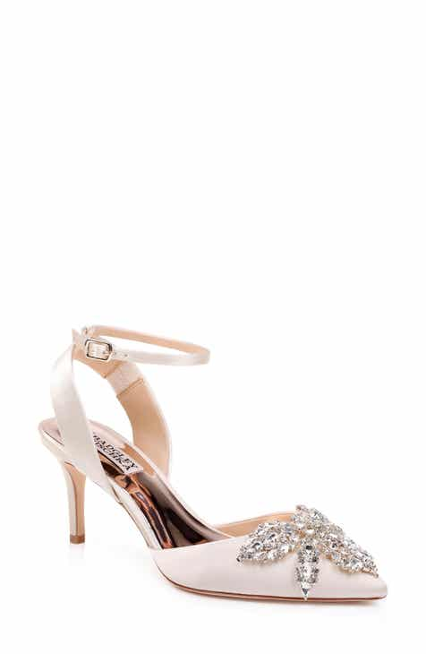ca3927177446 Badgley Mischka Fana Crystal Embellished Pump (Women)