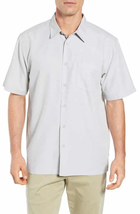 Quiksilver Waterman Collection Centinela Regular Fit Camp Shirt 54f07950d33