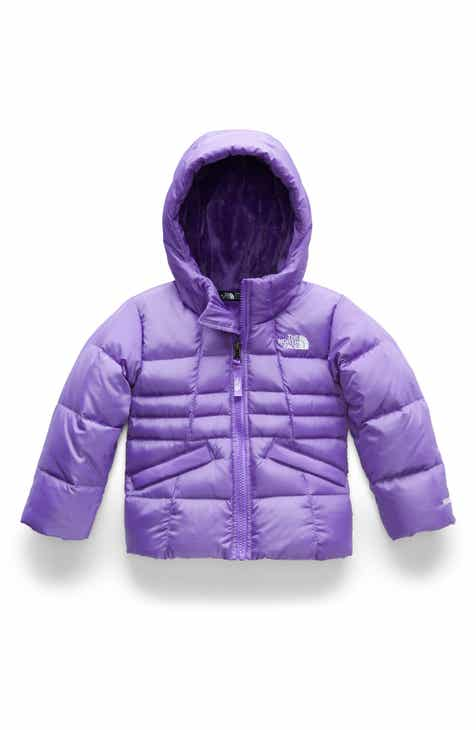 The North Face Moondoggy 2.0 Water Repellent Down Jacket (Toddler Girls    Little Girls) e93098c9cea