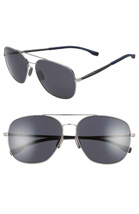 85899f5df9 BOSS 62mm Polarized Special Fit Aviator Sunglasses