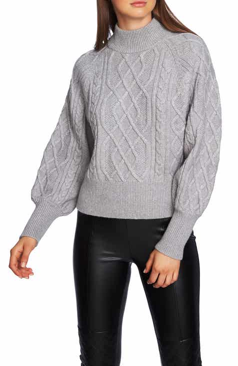1.STATE Mixed Cable Sweater
