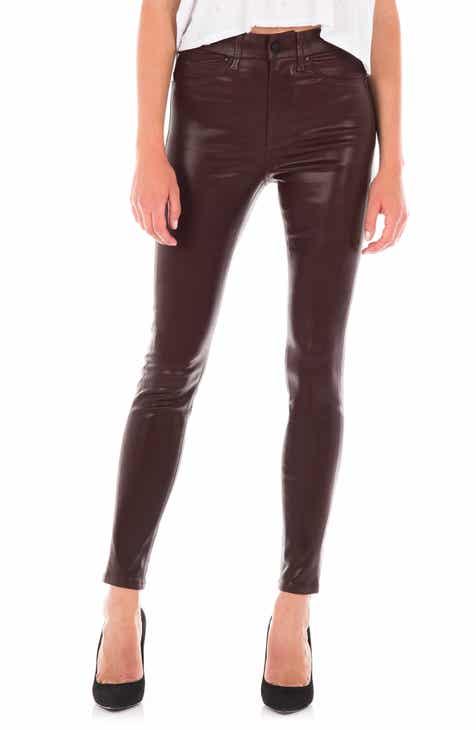 Fidelity Denim Luna Coated High Waist Skinny Ankle Jeans 52e7f99fb1a7