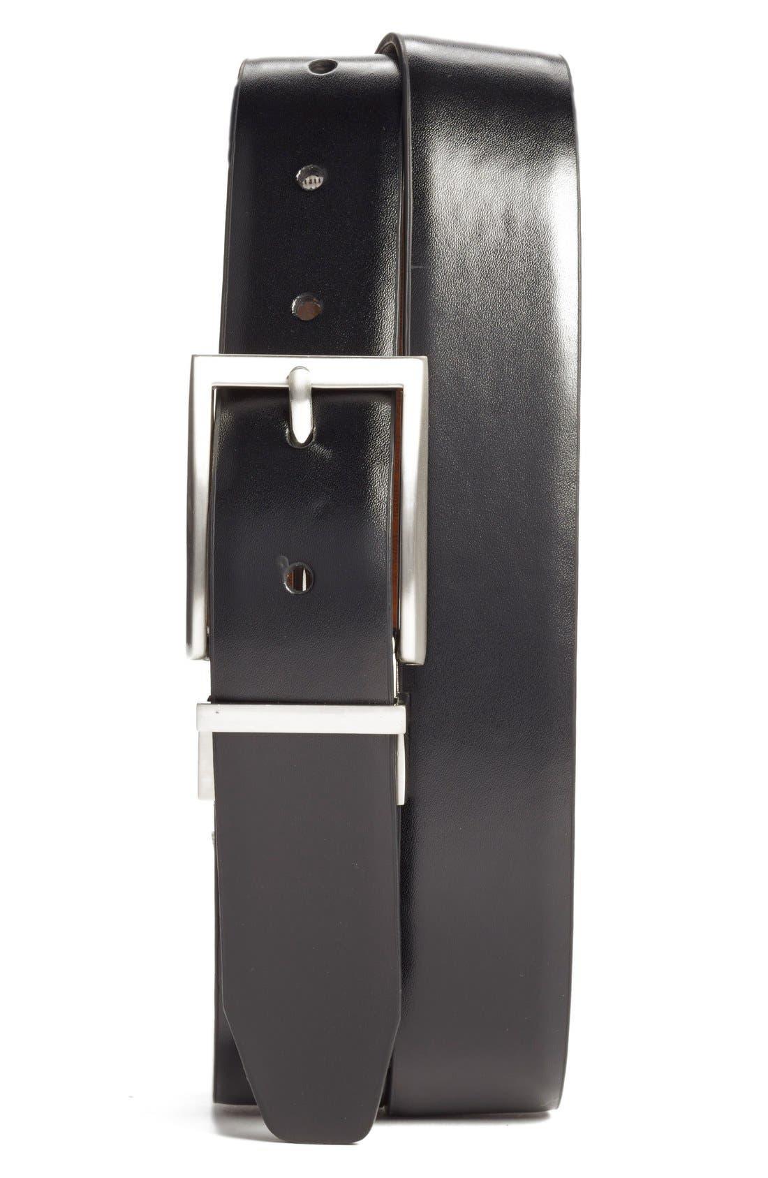 Main Image - Nordstrom Men's Shop Reversible Leather Belt