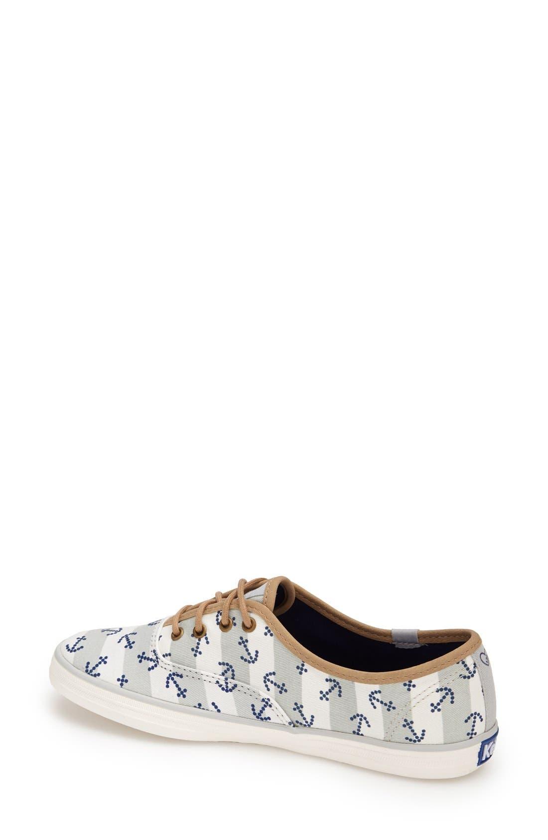 Alternate Image 2  - Keds® Taylor Swift 'Champion - Anchor Stripe' Sneaker (Women)