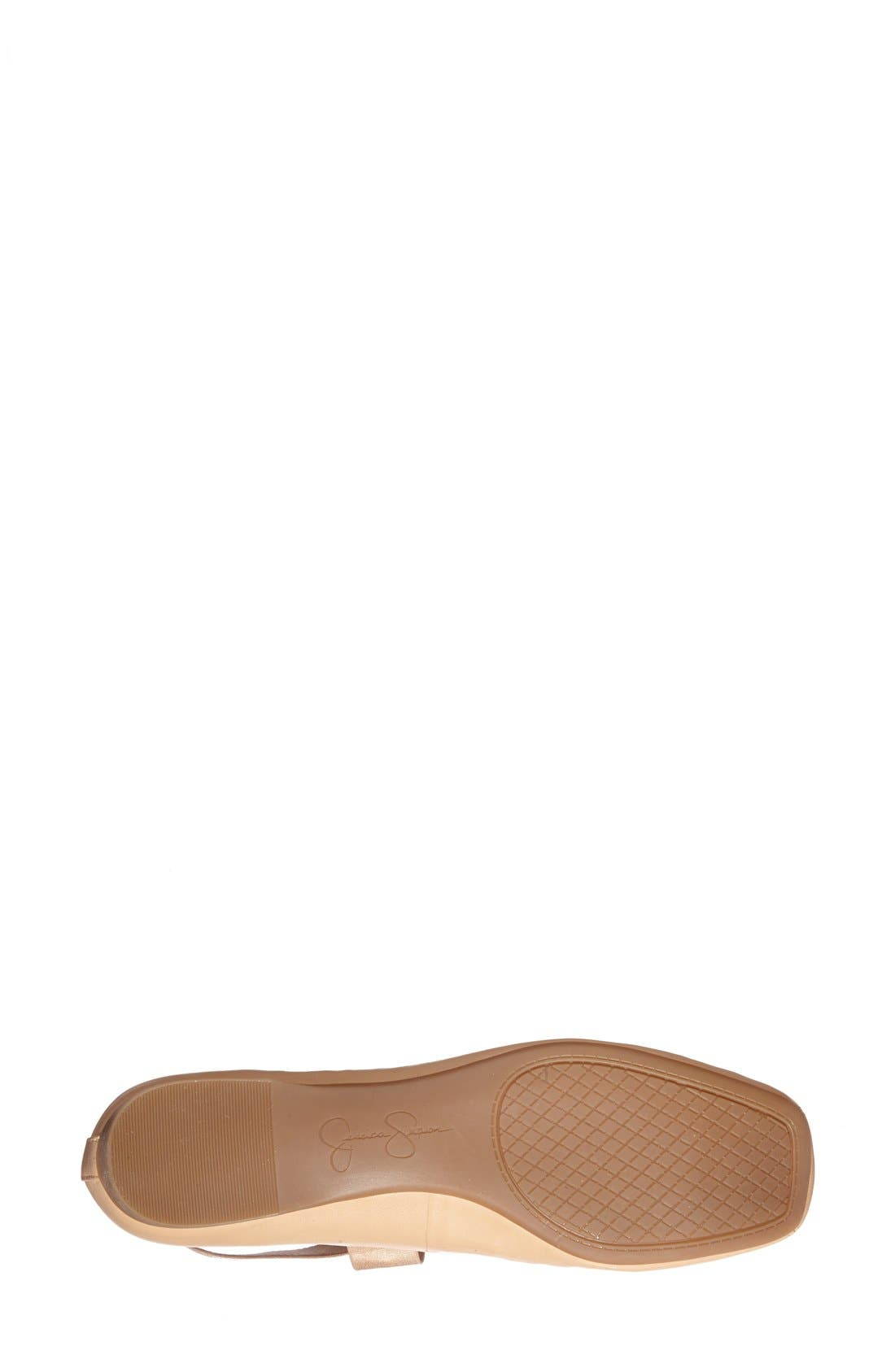 Alternate Image 4  - Jessica Simpson 'Mandalaye' Leather Flat