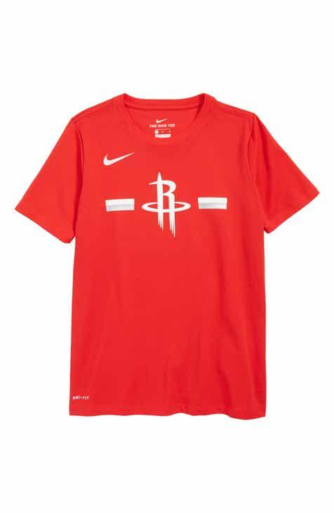Nike Houston Rockets Dri-FIT T-Shirt (Big Boys)