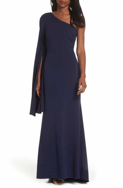 Vince Camuto One Shoulder Gown