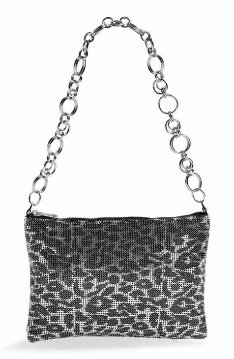 Topshop Leopard Spot Metallic Mesh Shoulder Bag 2e64d4f02c