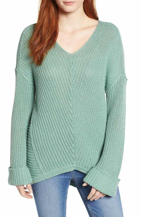 83fb0534e14 Caslon® Cuffed Sleeve Sweater (Regular   Petite)