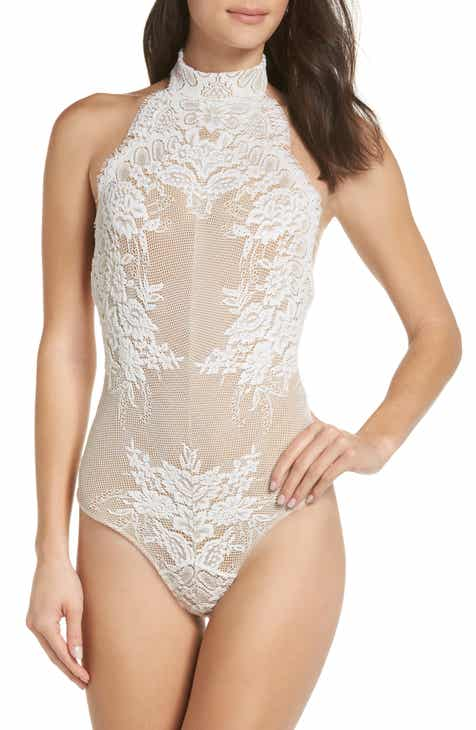 Free People Miley Lace Bodysuit 0057cb006