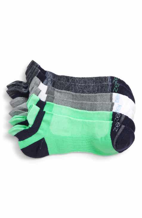 c993f4f0c Zella 3-Pack Double Tab Running Socks