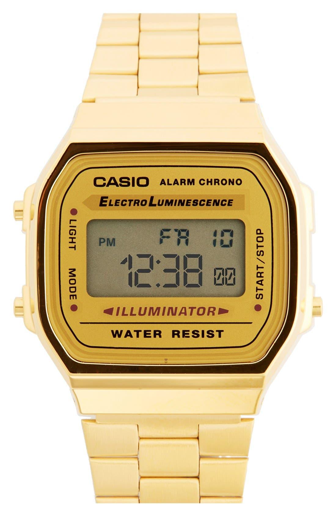 Alternate Image 1 Selected - G-Shock 'Casio' Digital Bracelet Watch, 39mm x 36mm