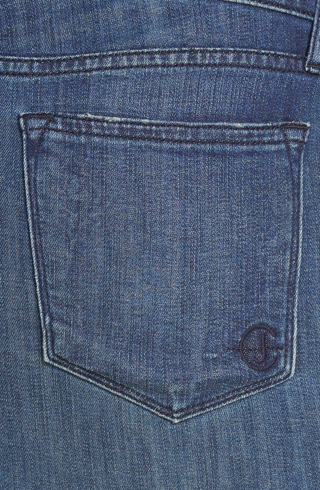 Alternate Image 3  - CJ by Cookie Johnson 'Kind' Boho Denim Maxi Skirt