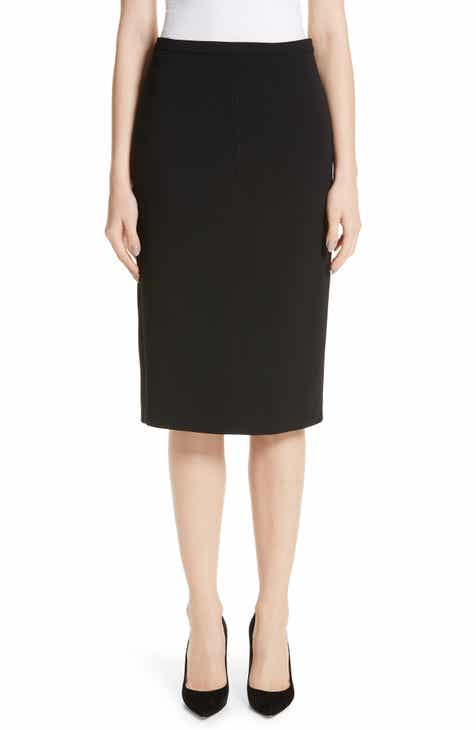 Max Mara Ornati Pleat Back Skirt by MAX MARA