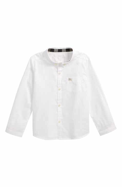 5b5d72f84ca Burberry Fred Woven Shirt (Toddler Boys)