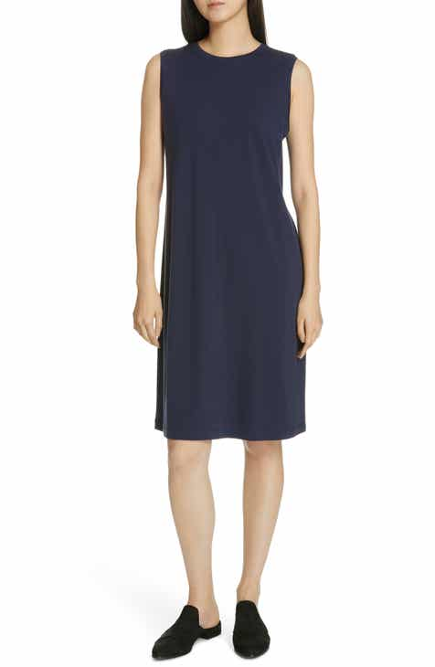 bc6e0cc8b3beb Eileen Fisher Knit Shift Dress