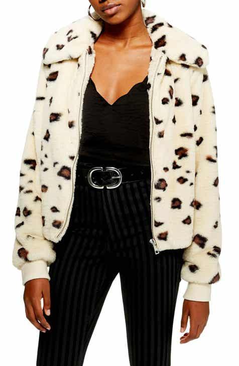 Women s Animal Print Fur   Faux Fur Coats  4ebd59fa8