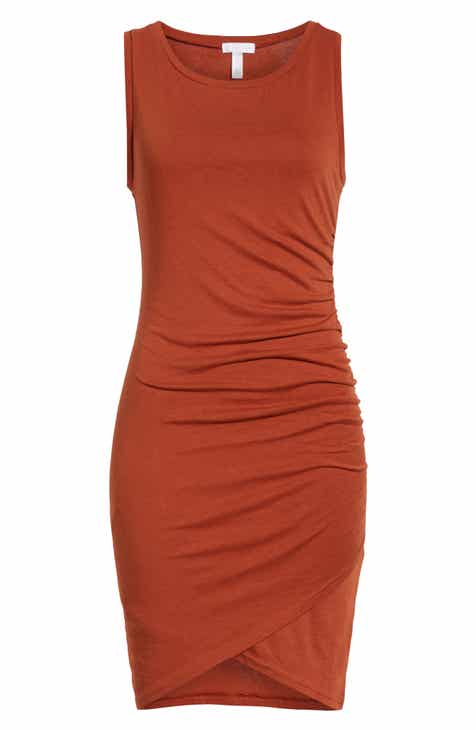 98a6f5080e352 Leith Ruched Body-Con Tank Dress