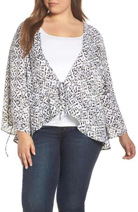 9af85e287d2 Sejour Women s Kimonos Plus-Size Clothing