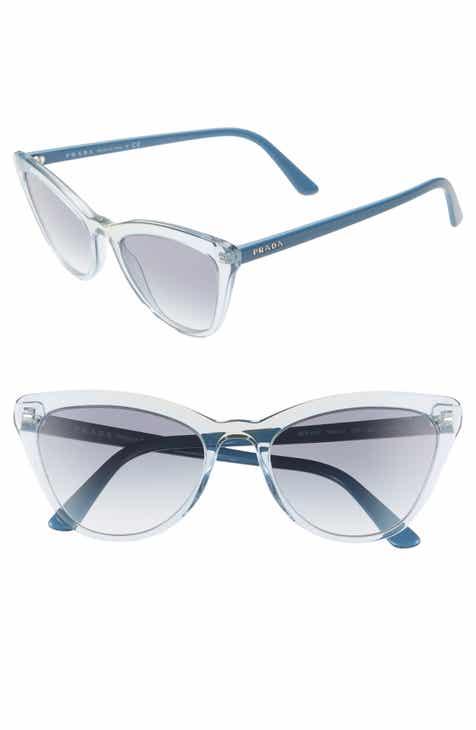 e55ef0a9603 Prada 56mm Cat Eye Sunglasses