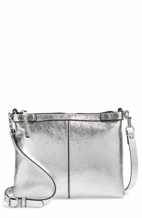 2ce844192a Treasure   Bond Sloane Metallic Leather Crossbody Bag