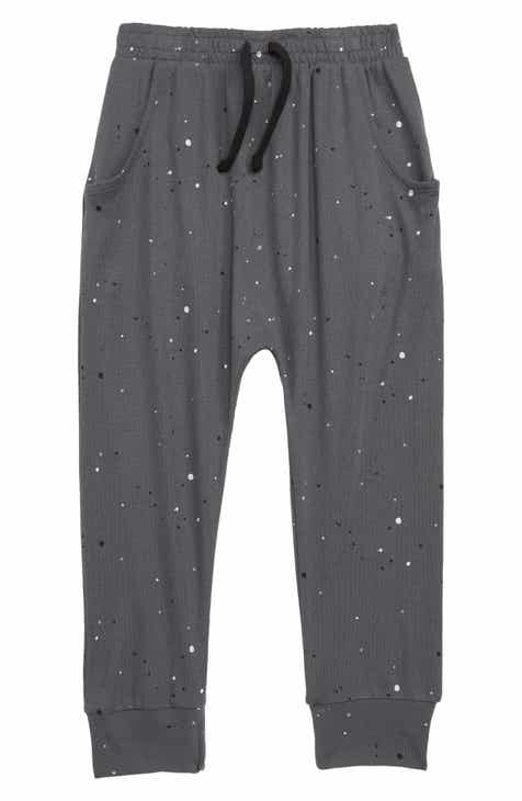 Stem Print Drop Jogger Pants (Toddler Boys, Little Boys & Big Boys)