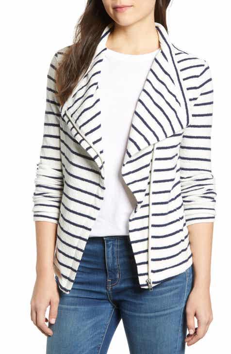 6f492e35912e Caslon® Knit Moto Jacket (Regular
