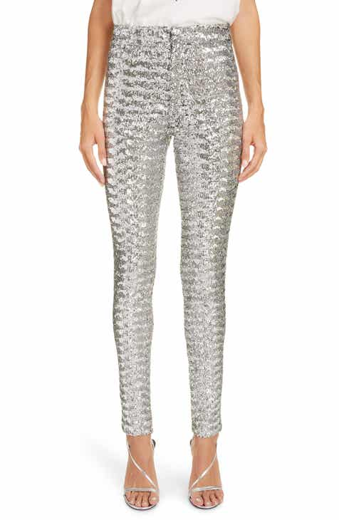 Isabel Marant Sequin Skinny Pants by ISABEL MARANT