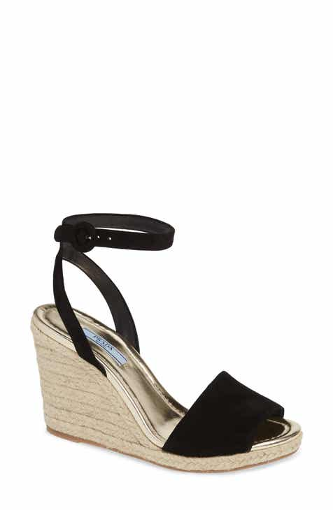 25403044f313 Prada Espadrille Wedge (Women)