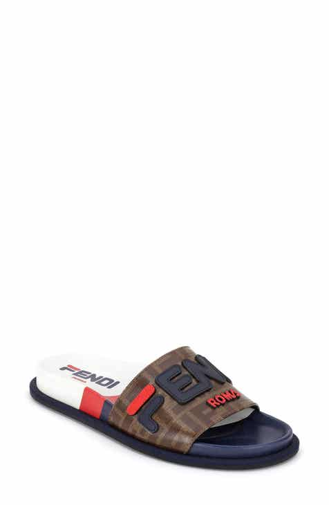 2f6f41559a61 Fendi x FILA Mania Logo Pool Slide (Women)