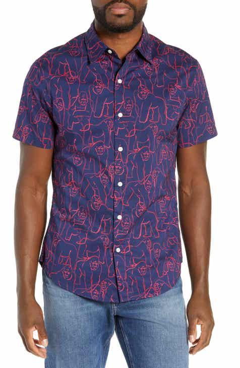 a5265bbfeed Bonobos Riviera Slim Fit Gorilla Print Sport Shirt