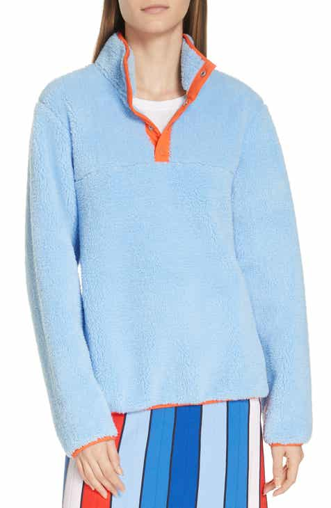 Tory Sport Snap Fleece Pullover by TORY SPORT