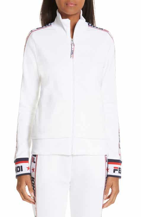 Fendi x FILA Mania Logo Zip Jersey Jacket b75fb8e32