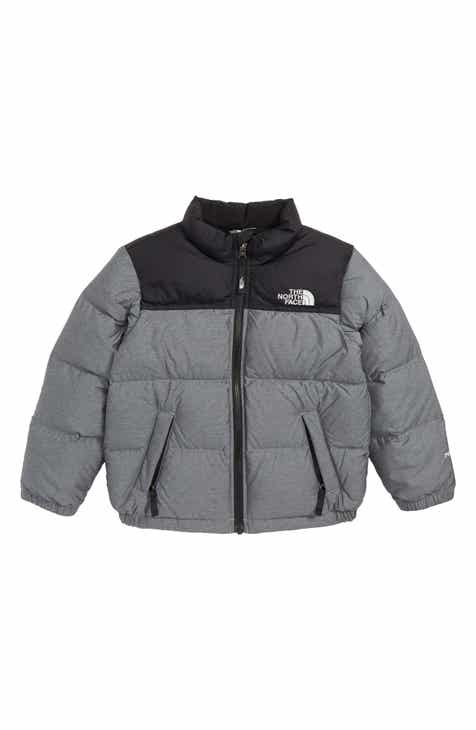 02dbc9e18e2 The North Face Nuptse 700 Fill Power Down Jacket (Big Boys)