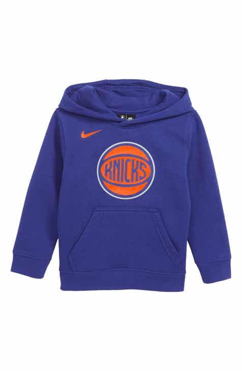 Nike New York Knicks Hoodie (Little Boys)