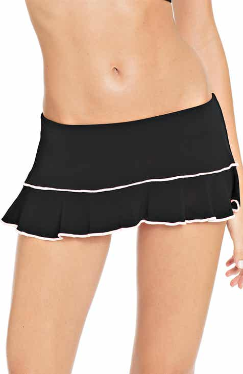 591767f80b556 Robin Piccone Malia Skirted Bikini Bottoms