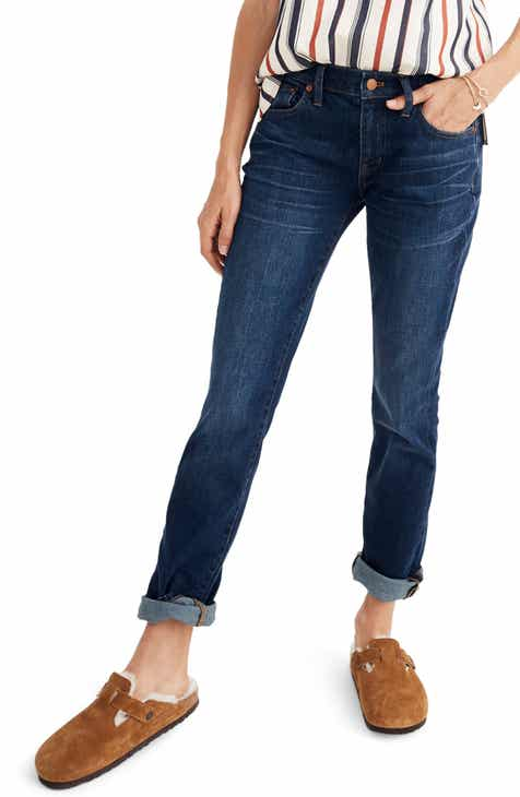 Jag Jeans Flora Stretch Cotton Crop Pants (Plus Size) by JAG