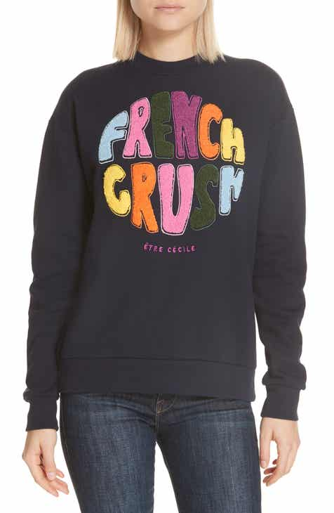 être cécile French Crush Boyfriend Sweatshirt 210e5beb7e