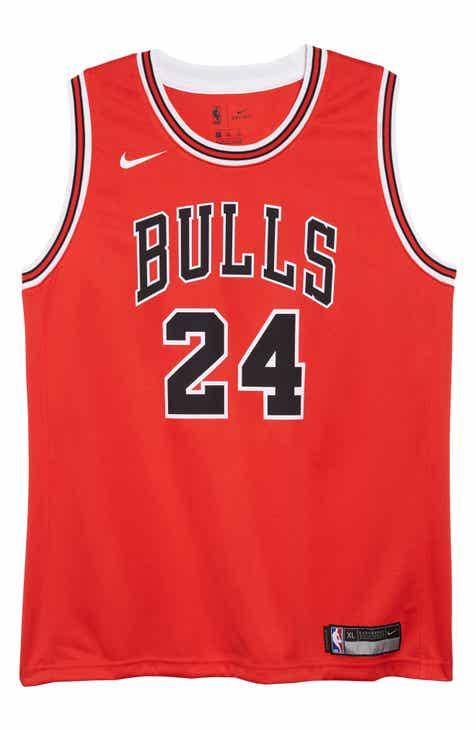 Nike Chicago Bulls Lauri Markkanen Basketball Jersey (Big Boys)