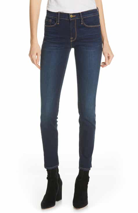 Liverpool Chloe Pull-On Roll Cuff Capri Jeans by LIVERPOOL
