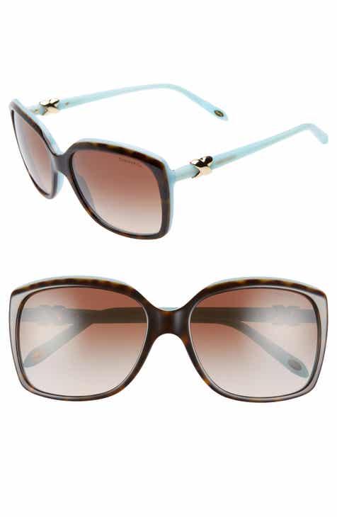 e9fe052add05 Tiffany   Co. 58mm Rectangular Sunglasses