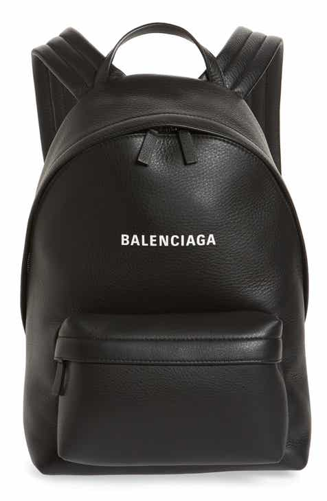 4f3a62f63780 Balenciaga Everyday Calfskin Leather Backpack