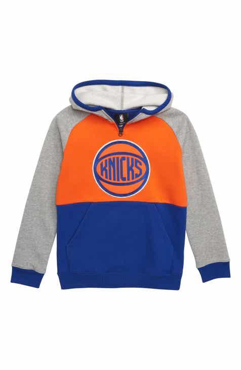 NBA Logo New York Knicks Regulator Hoodie (Big Boys)