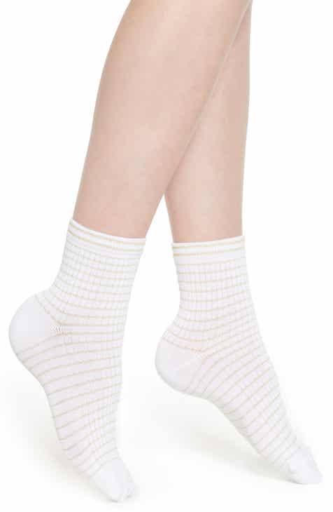 1043d18907c Nordstrom Soft Rib Stripe Ankle Socks