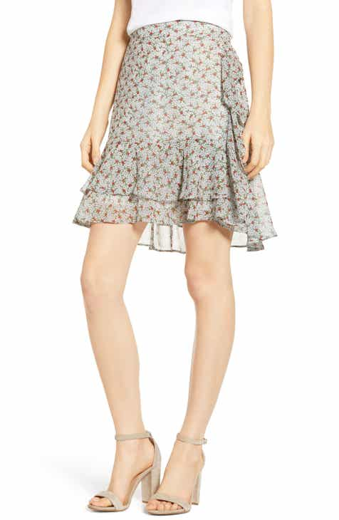 Ming Wang Gore Flare Skirt (Plus Size) by Ming Wang