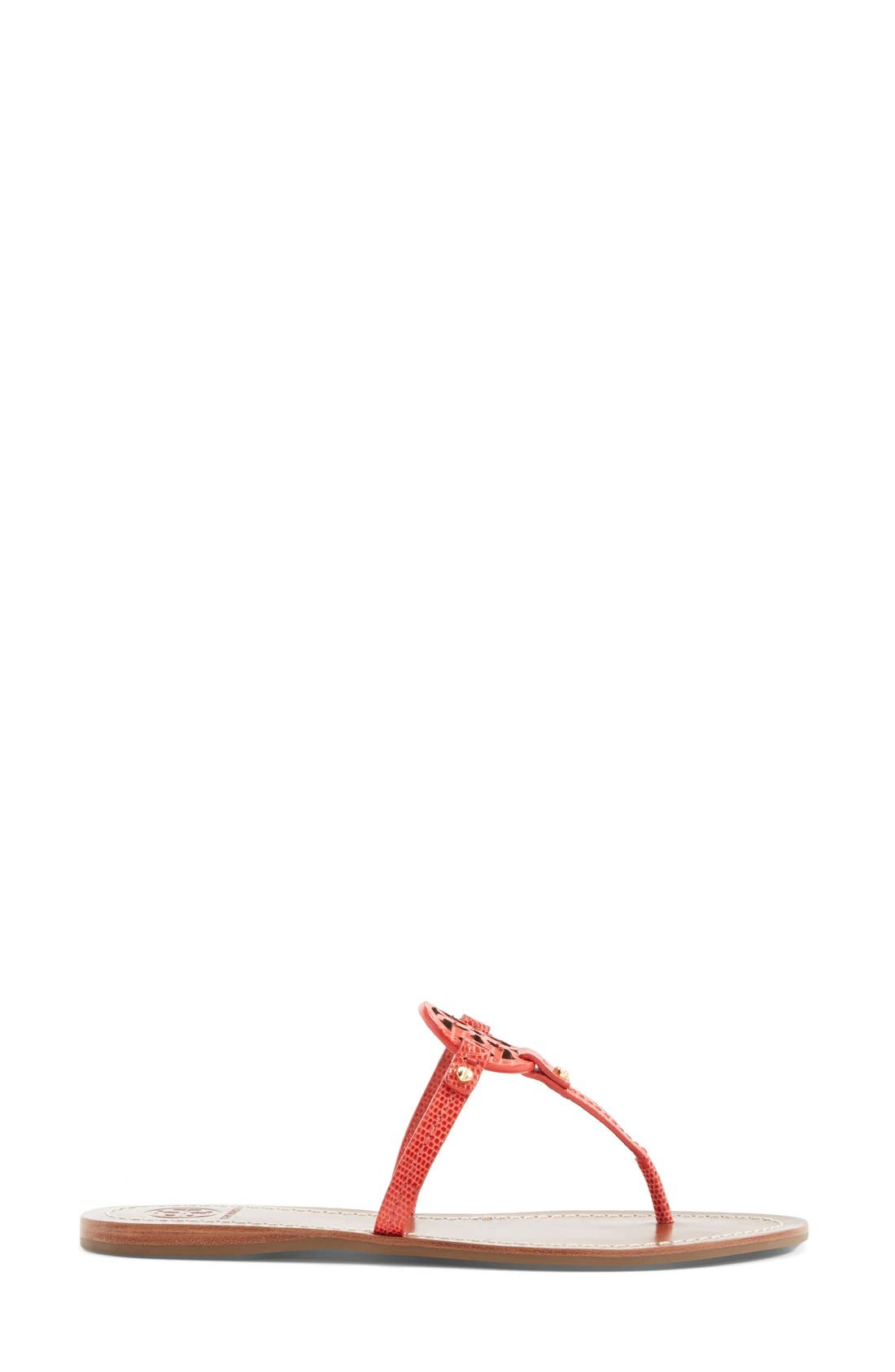 Alternate Image 4  - Tory Burch 'Mini Miller' Leather Thong Sandal (Women)
