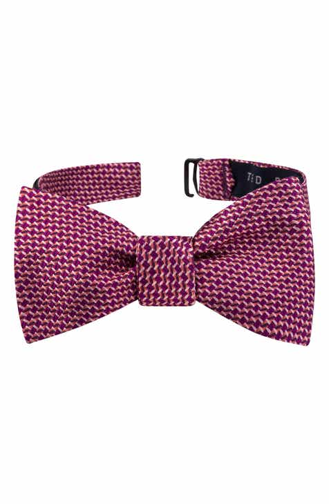 f3041e16afef Ted Baker London Geometric Silk Bow Tie