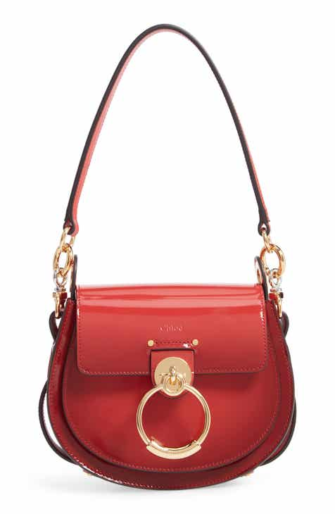 Chloé Medium Tess Calfskin Leather Shoulder Bag 08e8739834
