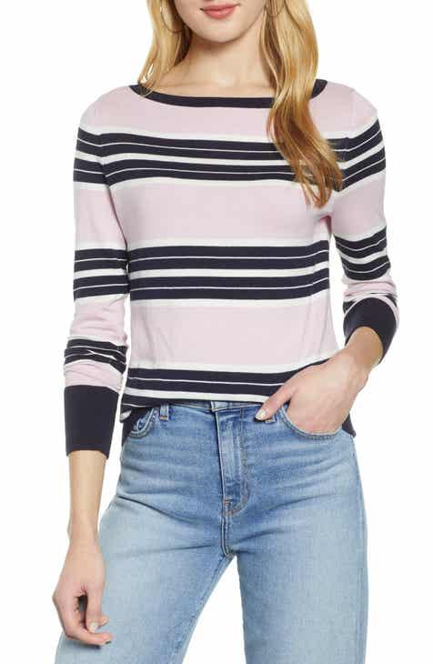 ffa6b3af4cdc7 Halogen® Bateau Neck Sweater (Regular   Petite)