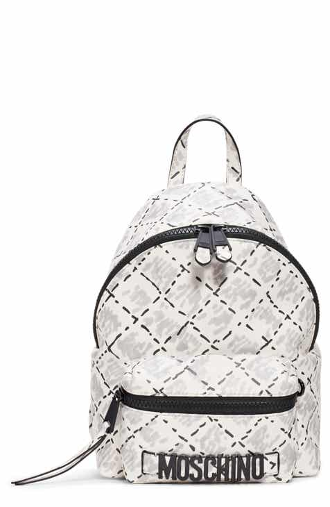 41254e7e4f Moschino Scribble Stitch Backpack
